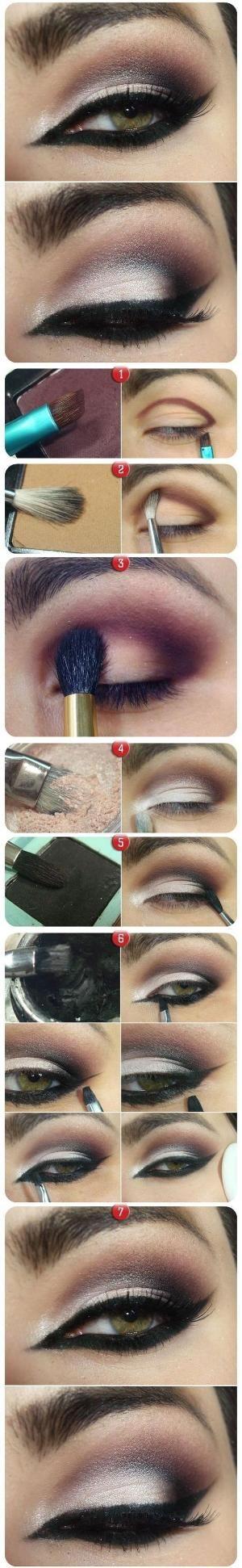 Step By Step Smokey Eye Makeup Tutorials by jessicaj