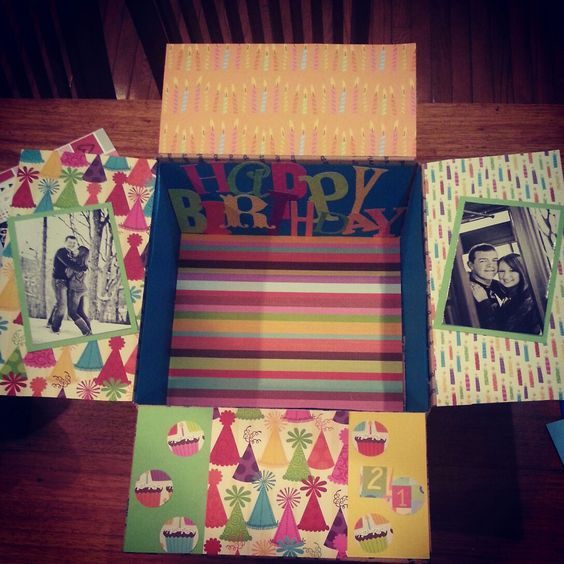 ideas for birthday care package - Google Search
