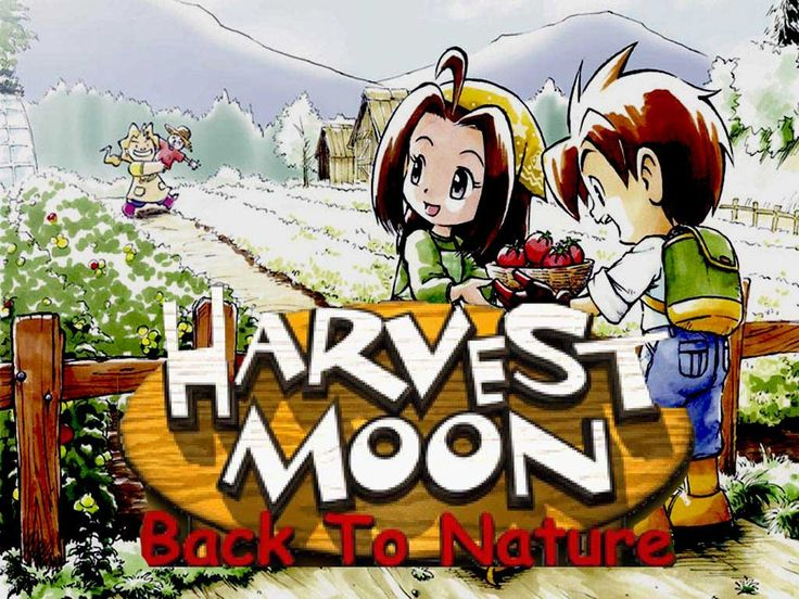 Harvest MoonBack to Nature