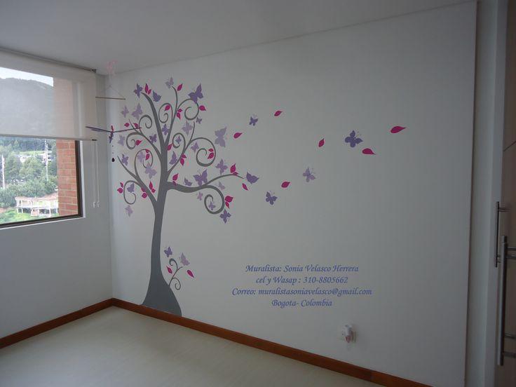mural para niñas