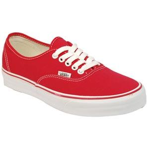 Vans - Authentic - Red