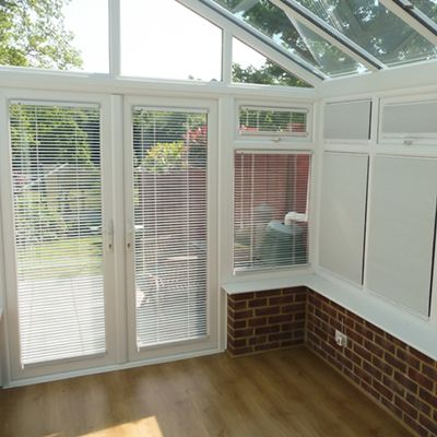 Neat fit blinds available as a Pleated, Metal Venetian or Honeycomb blind. Fits onto each window without the need to drill. We measure and fit Neat fit blinds in and around Bromley, Kent