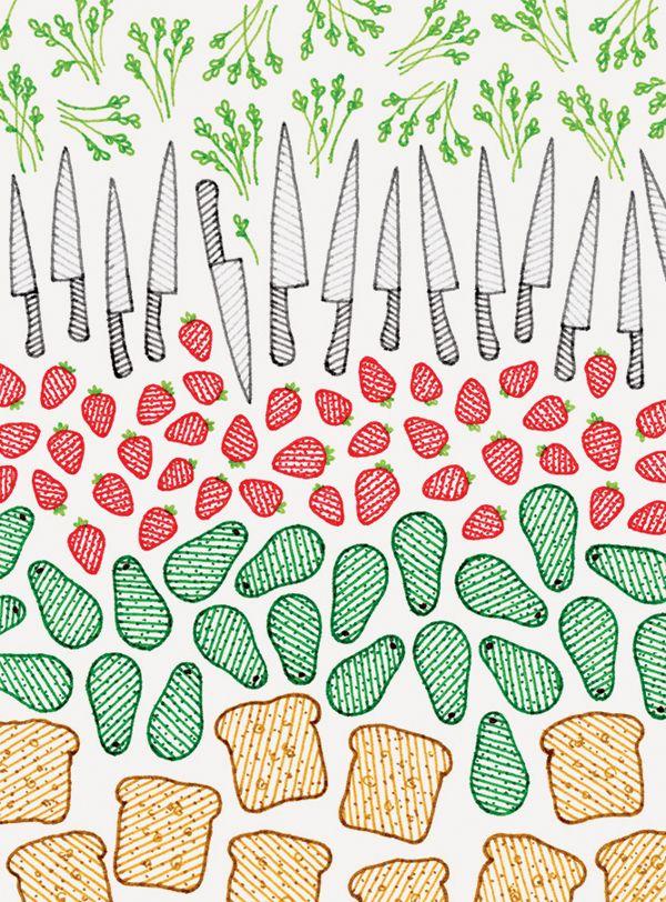 Blitz Picknick Patterns on Behance