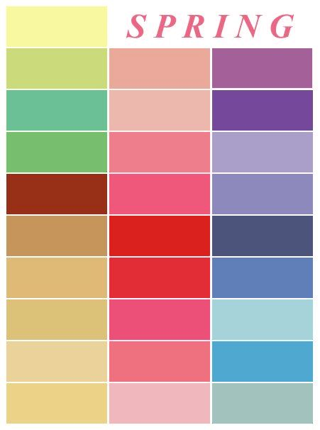 25 best Spring color palette ideas on Pinterest Spring colors