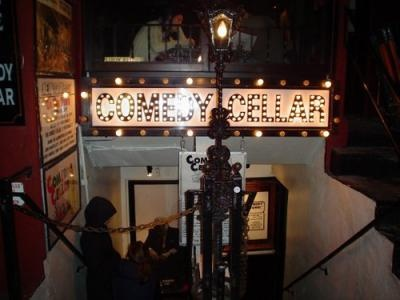 2010 Trip: small place. big laughs. COMEDY CELLAR (117 MacDougal. Greenwich Village below lively MacDougal Street) First NYC comedy club, during my 2010 trip.