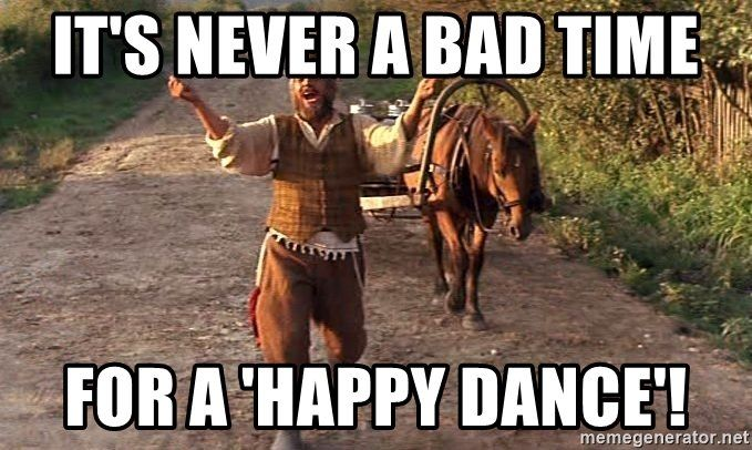 40 Happy Dance Memes That Will Put A Smile On Your Face Sayingimages Com Happy Dance Meme Dance Memes Happy Memes