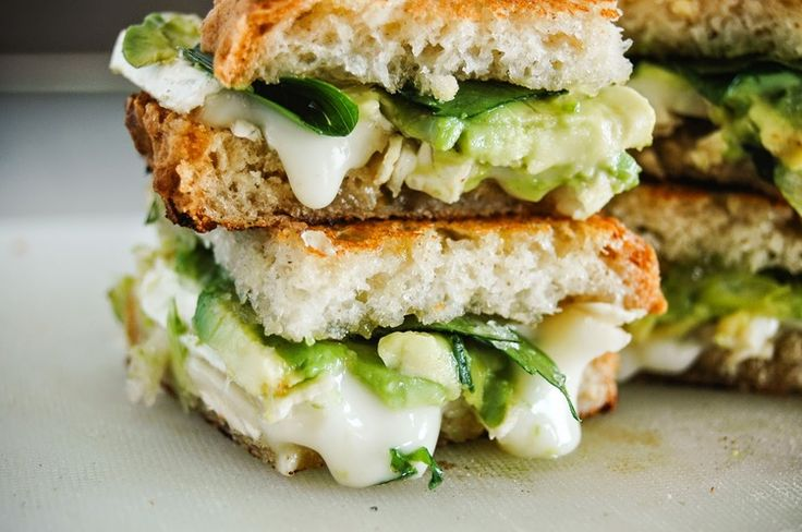 grilled cheese, avocado and brie, vegetarian, parsley, sandwich, glorious sandwiches, sweet and spicy,