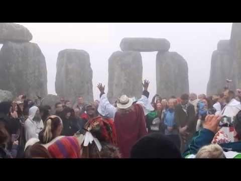 Stonehenge Autumn Equinox 2014 Handfasting