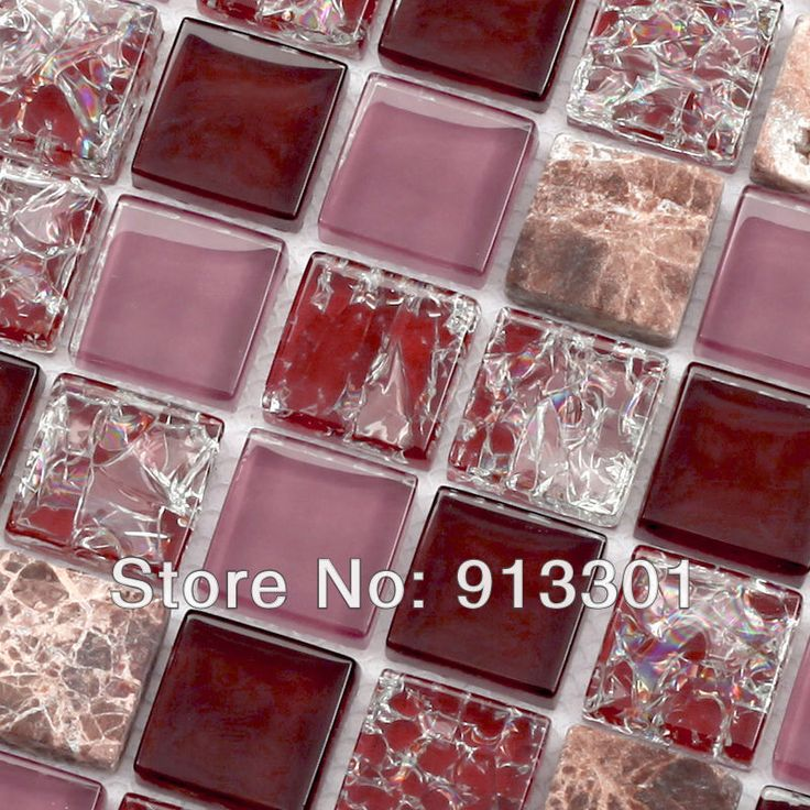 Стеклянная мозаика плитки щитка шаблон коричневый камень кристалл случайным наложения скидка стеклянные плитки пола в ванной комнате плитка для стен дизайн 10010