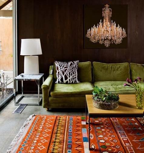 15 Besten Green Room Bilder Auf Pinterest Grünes Sofa Armlehnen