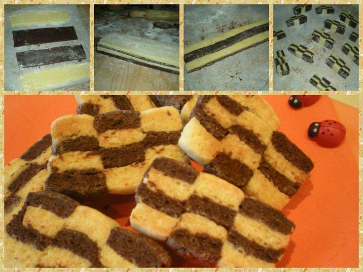 Tutorial biscotti scacchiera