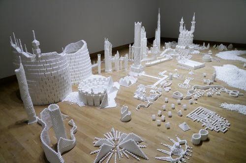 Sugar Metropolis Built from 500,000 Sugarcubes Is Pretty Sweet.Alex Van Buren.Feb 25,2014.Also See:weird,news,pop culture.