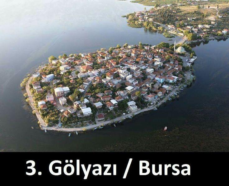 Nilüfer, Bursa konumunda Gölyazı