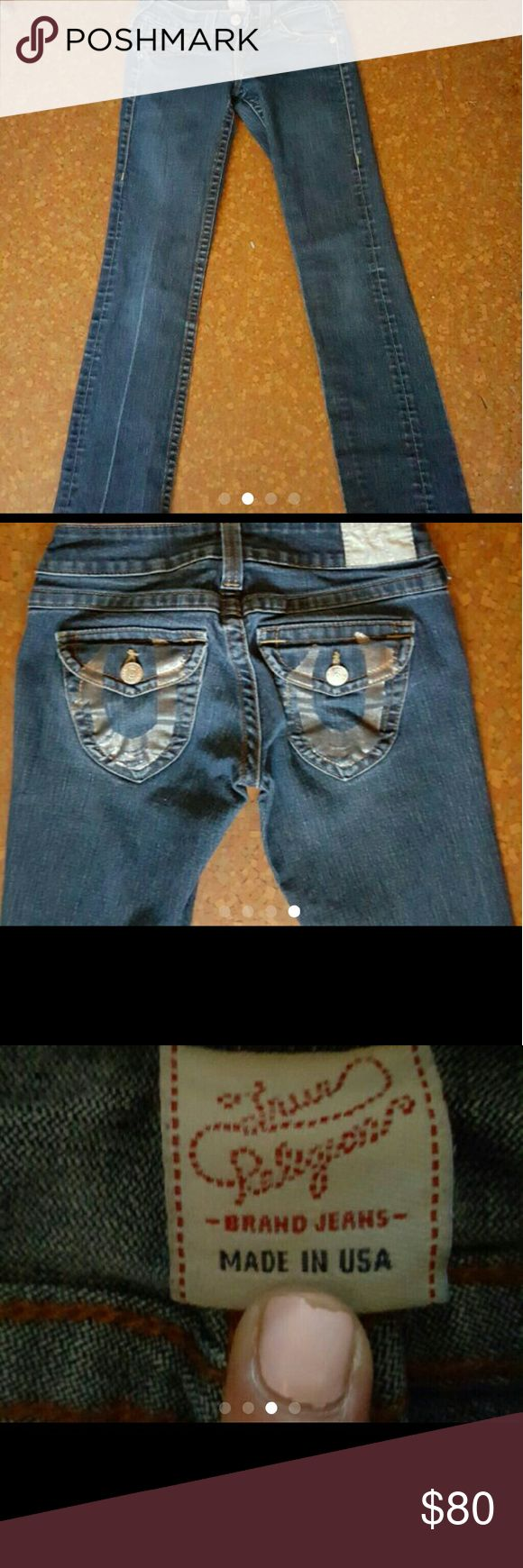 True Religion True Religion womens jeans great condition no rips no stains True Religion Jeans Straight Leg