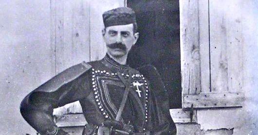 Pavlos Melas - Macedonian Hero in the war to liberate Macedonia from Turkish occupation.
