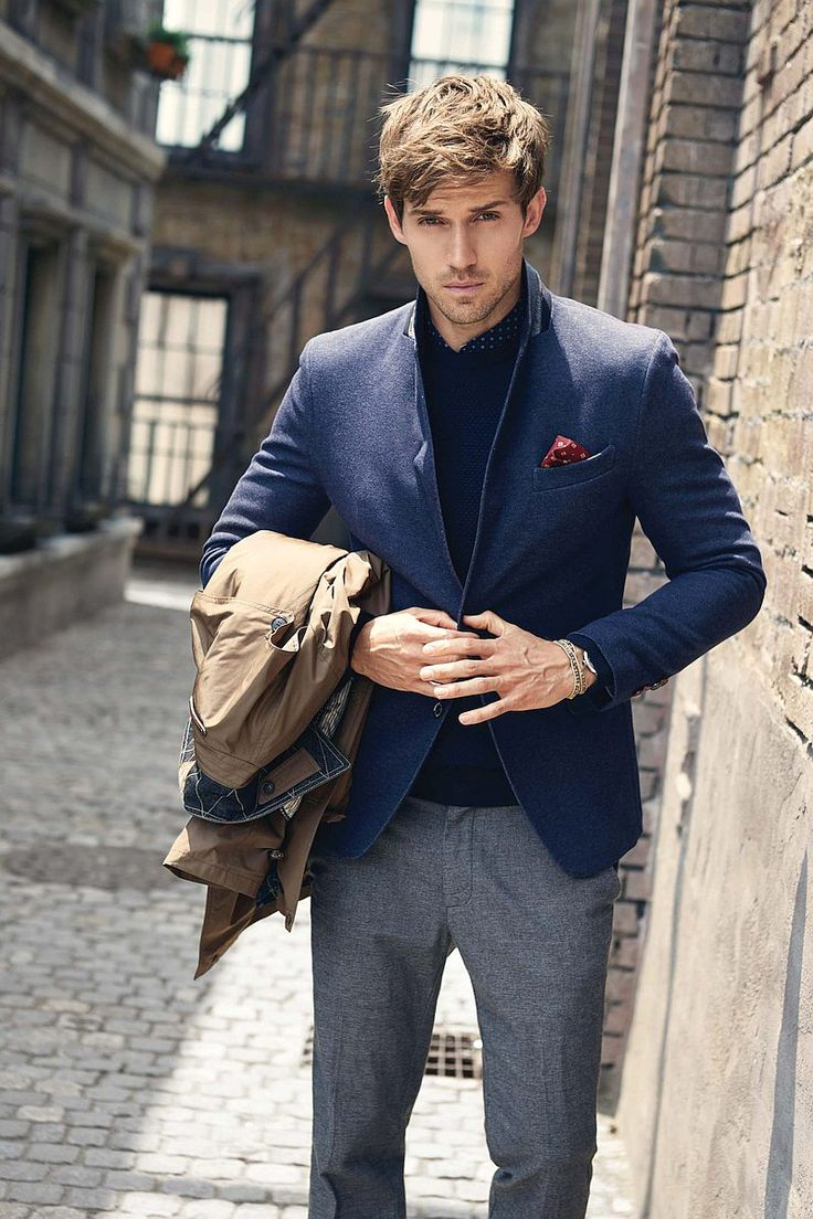 Men's Fashion   Menswear   Layers   Men's Outfit for the Office   Fall/Winter Look   Moda Masculina   Shop at designerclothingfans.com
