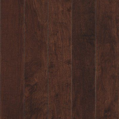 "Mohawk Randhurst Map SWF 3-1/4"" Solid Oak Maple Hardwood Flooring in Bourbon"