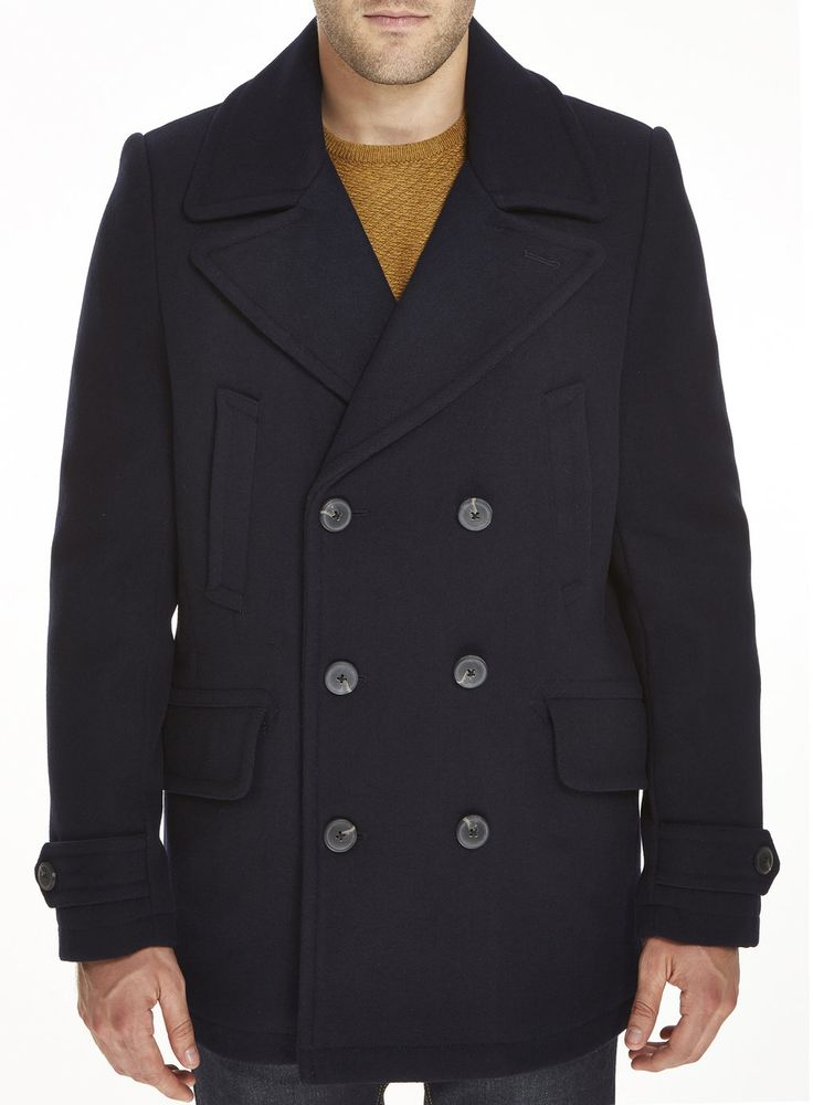 Slick navy peacoat from Burton.