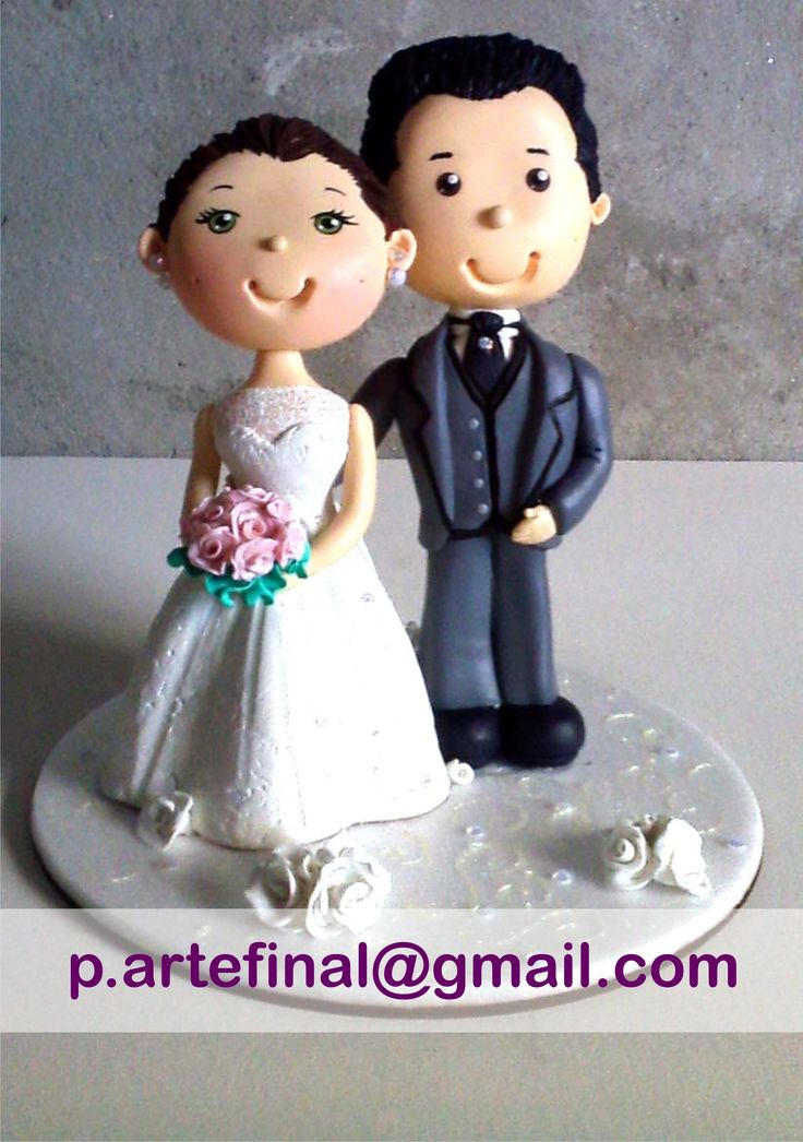 # married#grooms#Biscuit#polymerclay