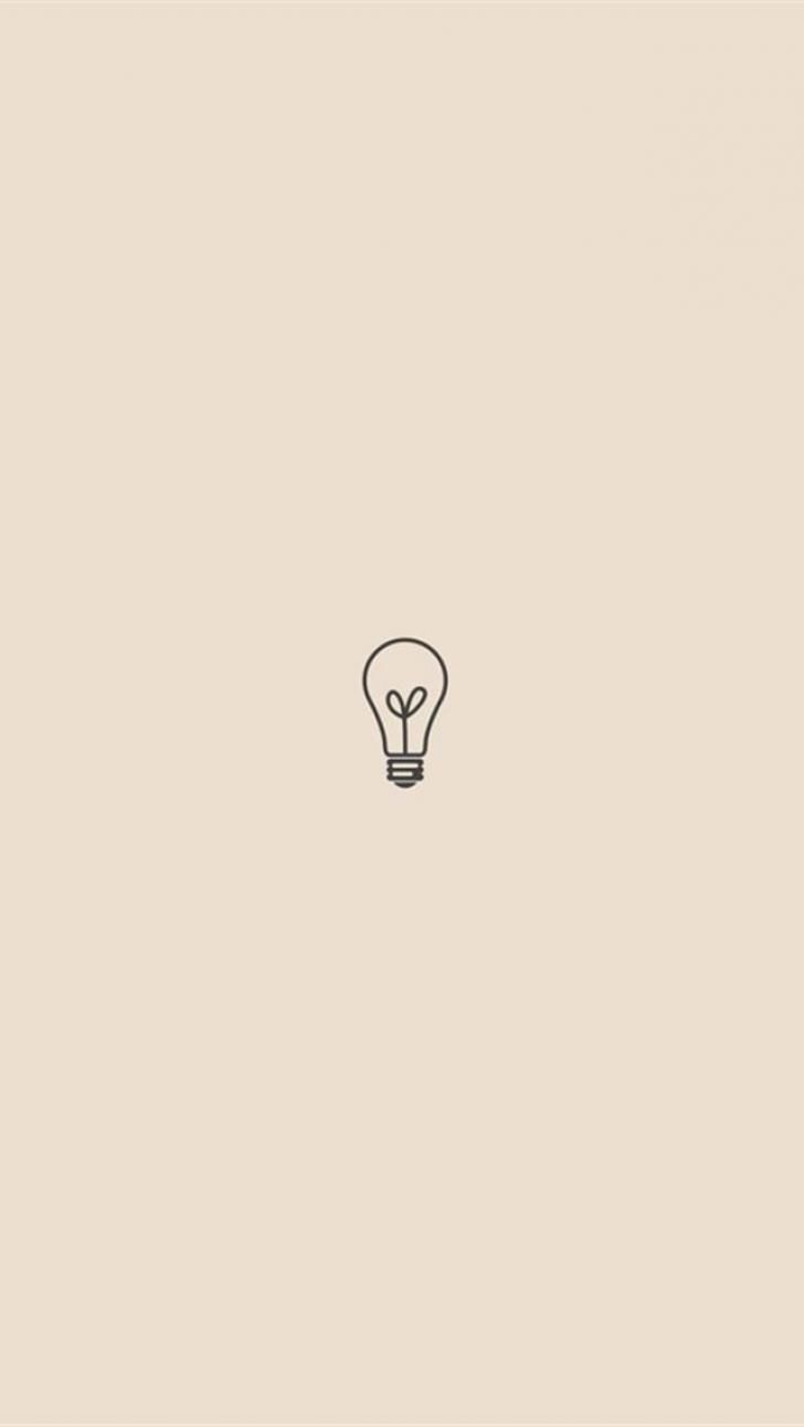 Lightbulb Minimalist Chrome Theme Themebeta Minimalist Wallpaper Cute Simple Wallpapers Minimalist Wallpaper Phone