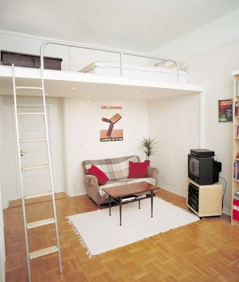 25 Clever Under Stairs Ideas To Optimize The Leftover: 25+ Best Ideas About Adult Loft Bed On Pinterest
