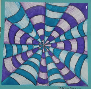 WHAT'S HAPPENING IN THE ART ROOM??: 5th Grade-Op Art