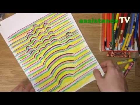 Как нарисовать 3D рисунок / 3D рука на бумаге - YouTube