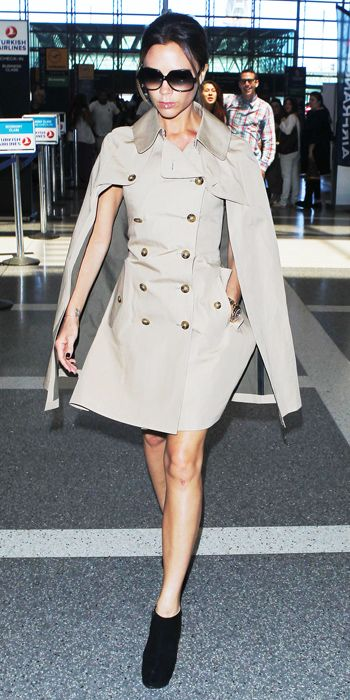 Jet-Set in Style: 39 Celebrity-Inspired Outfits to Wear on a Plane - Victoria Beckham from #InStyle