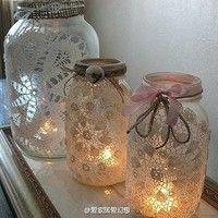 Doiley jars