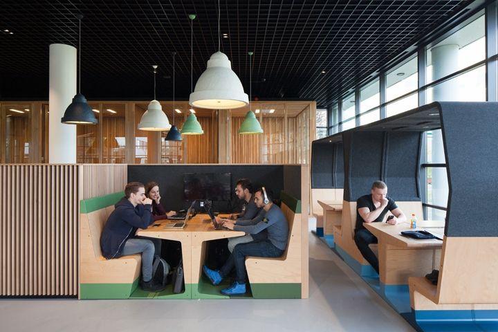 HUBB Modular Furniture by Mecanoo and Gispen » Retail Design Blog