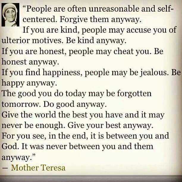Sister Teresa Quotes: Best 25+ Mother Teresa Quotes Ideas On Pinterest