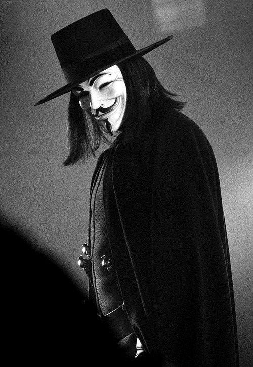 V for Vendetta. (: