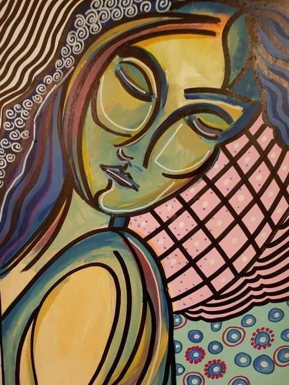 Original Art Abstract Art Canvas Art Acrylic Painting