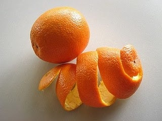 First, start saving citrus peels- wash them with baking soda before peeling to make it easier. Save them in the refrigerator until you have a bunch. Next, place in a large glass jar or container with a lid. Cover with white vinegar and soak for 4 weeks- shaking occasionally to mix it up. Finally strain the mixture and reserve the citrus vinegar. Use equal parts water and citrus vinegar for an all purpose cleaner. Use full strength for greasy or stubborn messes.
