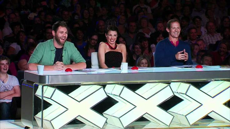 Australia's Got Talent 2012 - #TheNelsonTwins #ComedyAct #Comedians