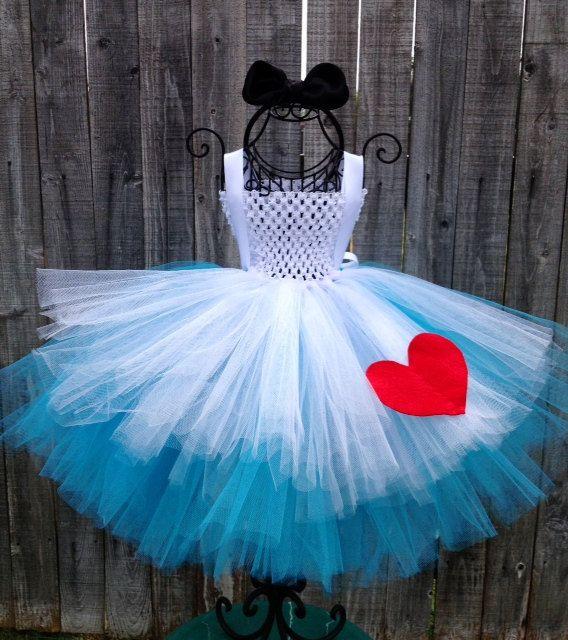 Alice In Wonderland Tutu Costume  Size 6M  4T by TutuliciousDivas, $58.00