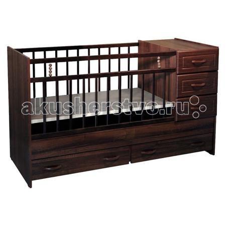 Ведрусс Раиса с комодом  — 6500р. ------------------------------  Кроватка-трансформер Ведрусс Раиса с комодом  Мебельная фабрика Ведрусс - это качественная и доступная детская мебель российского производства. Покупая кроватку-трансформер этой фирмы, вы приобретаете мебель, в которой ваш ребенок сможет спать с самого рождения и до 10-летнего возраста.  Достоинства детской кроватки-трансформера Ведрусс Раиса: Стандартная по длине детская кроватка легко модифицируется в подростковую, размеры…