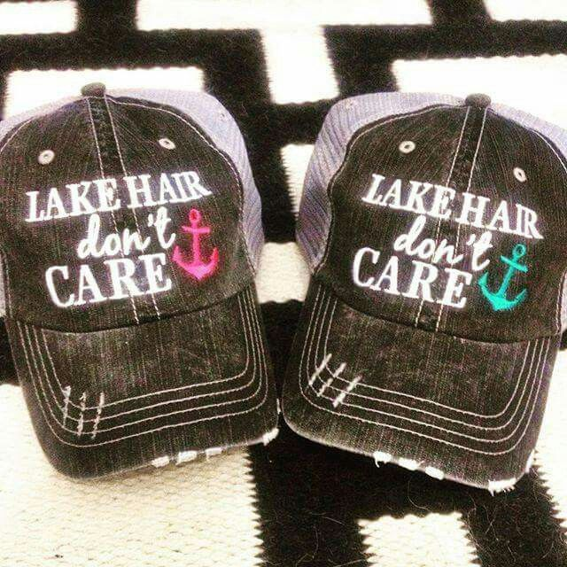 Lake hair dont care! Absolutely LOVE this hat!
