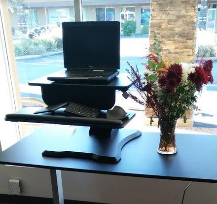 Charming The UPLIFT Adapt Height Adjustable Standing Desk Converter Makes It  Possible For Anyone To Make Their Workstations Sit To Stand, Without Having  To Replace ... Part 13