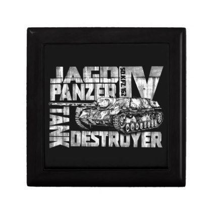 Jagdpanzer IV Wooden Jewelry Keepsake Box - home gifts cool custom diy cyo