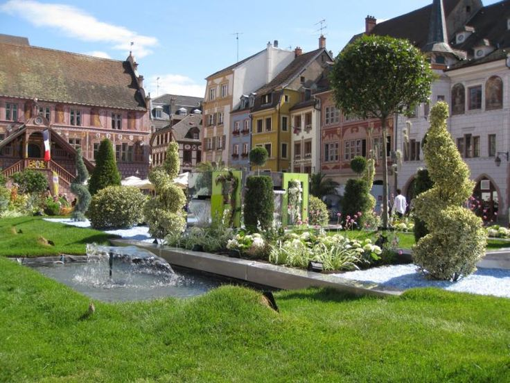 17 best ideas about mulhouse alsace on pinterest illustration indienne tatouages de fleurs de - Jardin terrasse toit mulhouse ...