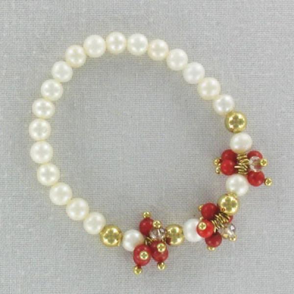 pulseras con perlas y cadena - Buscar con Google