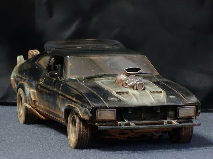 Mad Max Interceptor (With images) Plastic model cars
