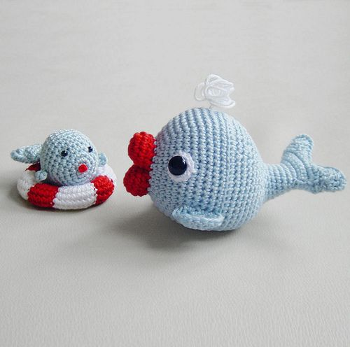 Amigurumi Today Whale : Best images about crochet nautical sealife on