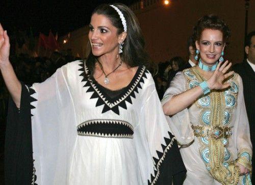 queen rania of jordan in the domitia kaftan from the