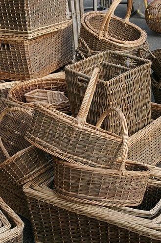 450 best images about baskets on pinterest painted baskets rattan and vintage baskets. Black Bedroom Furniture Sets. Home Design Ideas