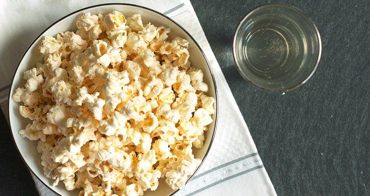Black Truffle Popcorn | REstyleSOURCE | Throw It - Baby Showers | Pin ...