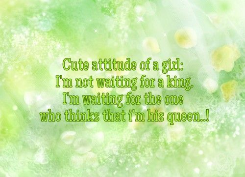 17 Best Attitude Quotes For Girls On Pinterest