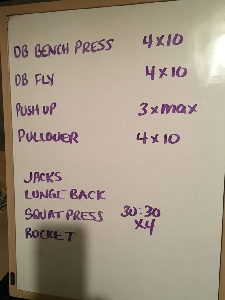 Chest + HIIT