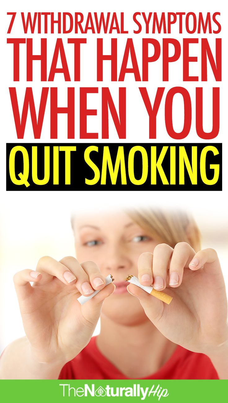 7 Withdrawal Symptoms That Happen When You Quit Smoking | Most people never talk or know about this...